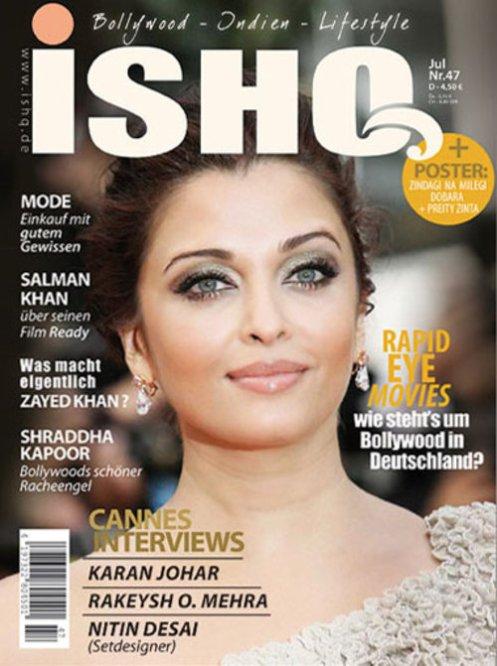 aishwarya rai ishq magazine