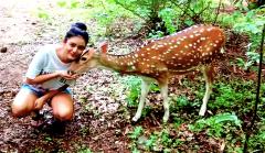 Mishti Chakraborty Animal Lover