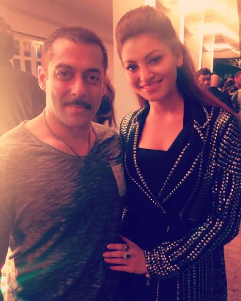 Salman Khan and Urvashi Rautela